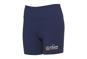 'Event Logo' Yoga Technical Fitted Mid-Rise Shorts - Women's