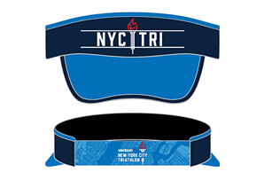 Technical Visor with Elastic Band - Torch Design