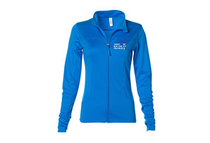 Zip Lightweight Tech Fleece Jacket - 'LCE' Design - Women's