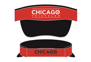 Tech Elastic Band Visor - Event Logo Design