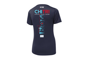 SS Tech UPF50 Scoop Tee - Course 2019 Design - Women's