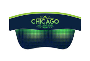 Tech Elastic Band Visor - Marquee Design