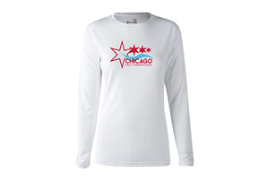 LS Tech Tee - Star Design - Women's