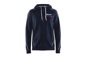Tech Zip Hoody - Embroidered Finisher 2019 Design - Men's