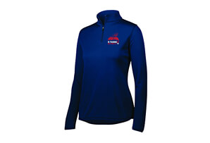 Tech 1/4 Zip - 'In Training 2020' Design - Women's