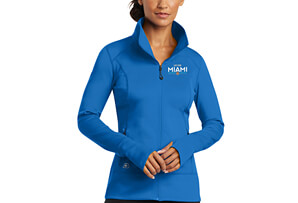 OGIO Tech Zip Jacket - Electric Blue 'Embroidered Design' - - Women's