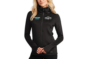 Cowl-neck OGIO Tech Zip Jacket '2020 Finisher Emb. Design' - - Women's