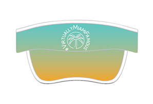 Tech Visor 'Event Logo' - Miami Marathon