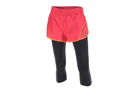 "Flex 3"" Short w/ 3/4 Compression Tight - Women's"
