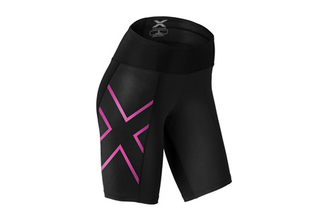 Mid-Rise Compression Short - Women's