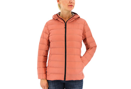Down Hooded Jacket - Women's