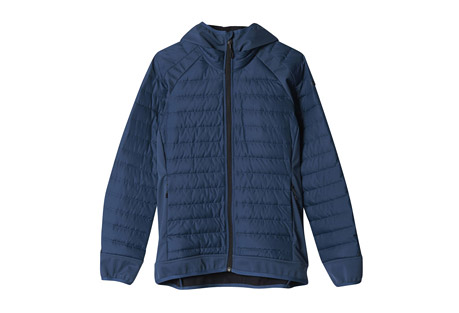 Hybrid Down Hooded Jacket - Women's
