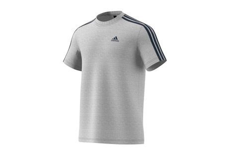 Essentials 3-Stripe Tee - Men's