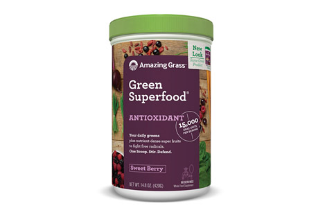 Antioxidant Green Superfood Sweet Berry - 60 Servings