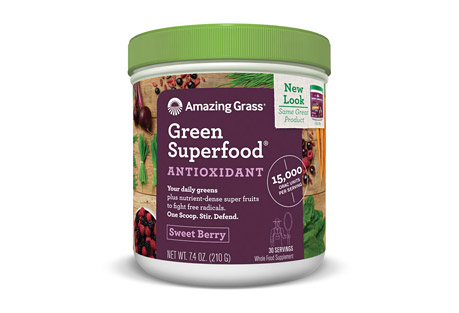 Antioxidant Green Superfood Sweet Berry - 30 Servings