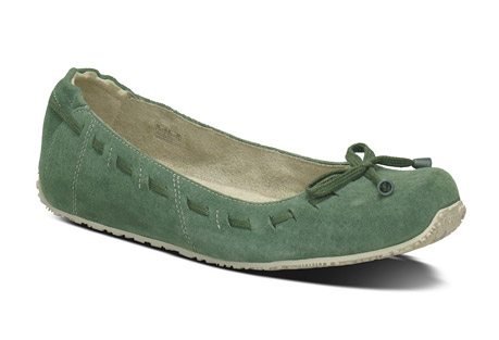 Arabesque Suede Flats - Womens