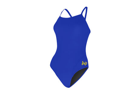 Michael Phelps Solid Mid Back Swimsuit - Women's