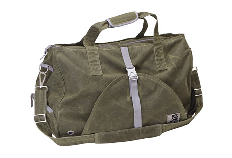 Swami Waxed Canvas Weekender Bag
