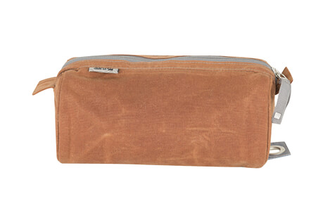 "Waxed Canvas Stowe 9"" Dopp Kit Bag"