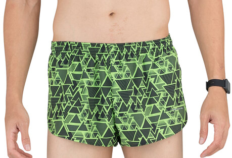 "Stretch 1"" Elite Printed Split Run Short - Men's"
