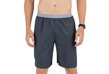 "Printed 9"" Cruz V-Notch Run Short - Men's"