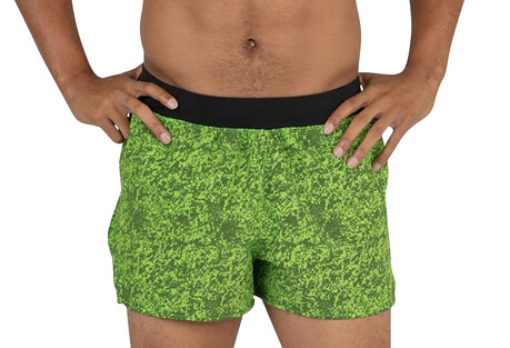 "Bandit 3"" Half Split Run Short - Men's"