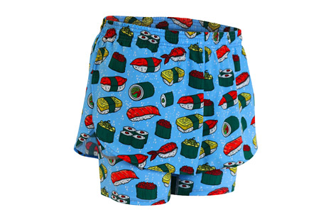 "2n1 1"" Elite Printed Split Shorts - Men's"