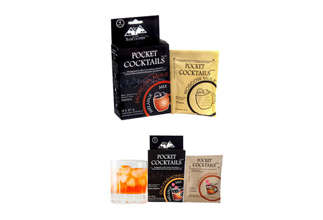 Pocket Cocktails 8-pack - Moscow Mule & Old Fashioned