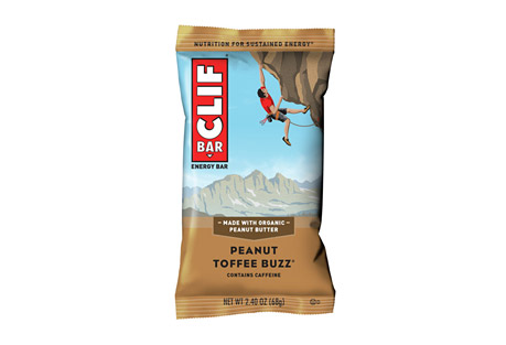 Peanut Toffee Buzz Bar w/Caffeine - Box of 12