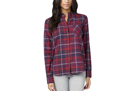 Wylie Plaid Flannel - Women's