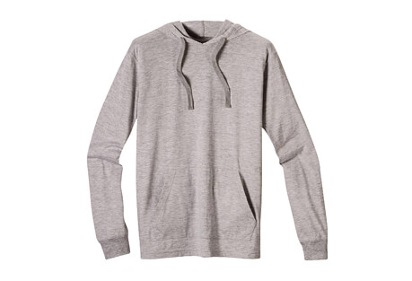 Heathered Jersey Pullover Hoody