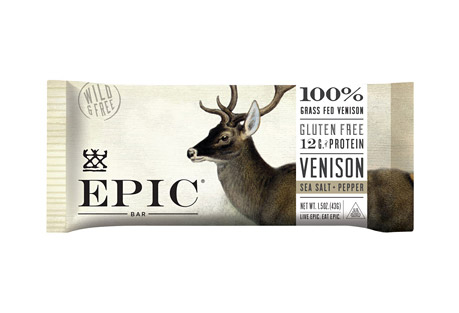 Venison Sea Salt Pepper Bars - Box of 12