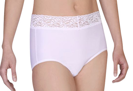 Give-N-Go Lacy Full Cut Brief - Women's