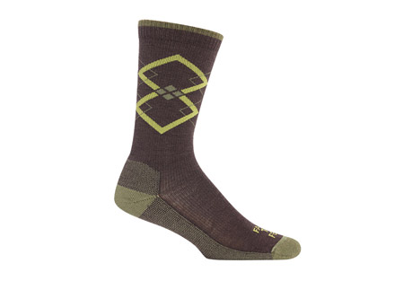 Fall City Argyle Lightweight Crew Socks