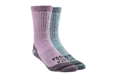 Boulder Mid Weight Crew Socks 2-Pack - Women's