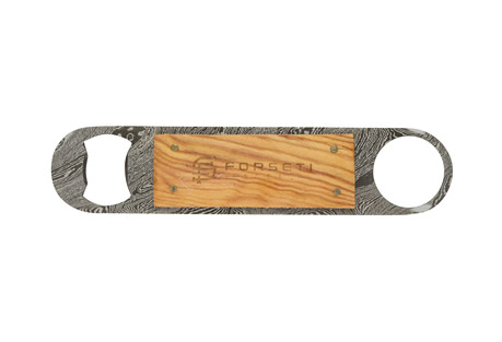 Sommelier Damascus Steel Bottle Opener