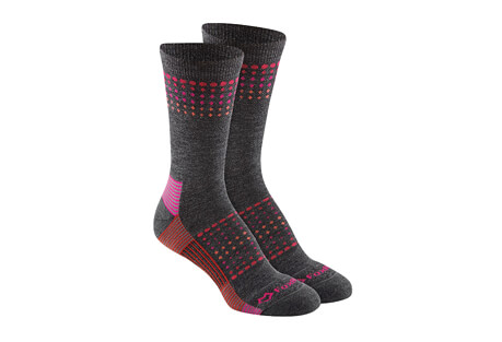 Ombre Sunrise Med Weight Crew Socks - Women's