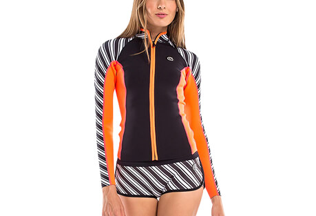 Vibrant Stripes 1 MM Jacket - Women's