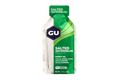 GU Salted Watermelon Energy Gel w/Caffeine - Box of 24