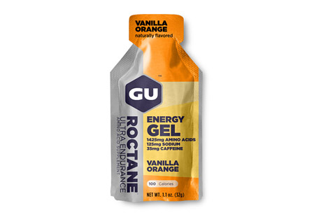 Vanilla Orange Roctane Energy Gel w/Caffeine - Box of 24