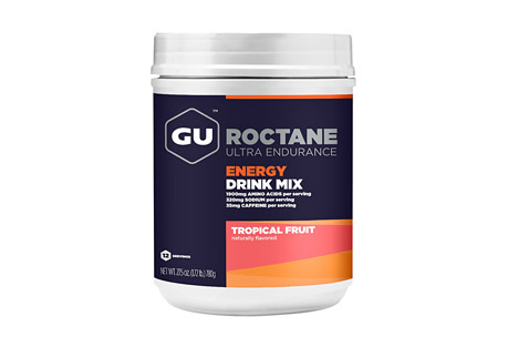 Tropical Fruit Roctane Energy Drink Mix Canister w/Caffeine - 12 Servings