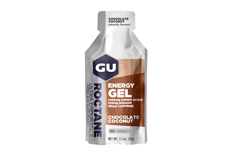 Chocolate Coconut Roctane Energy Gel w/Caffeine - Box of 24