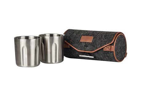 Tumbler 2-Pack + Wool Felt Carrying Case