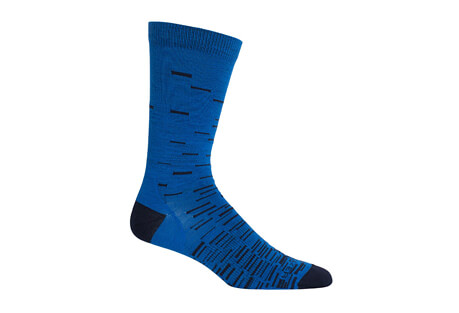 Lifestyle Ultra Light Fine Gauge Crew Gradient Socks