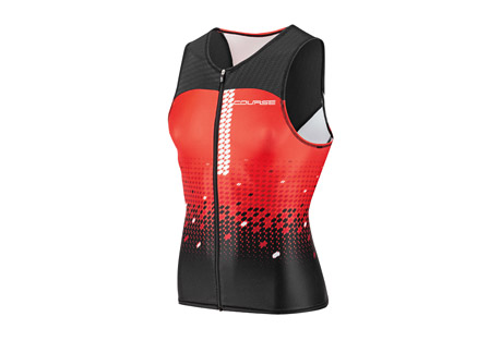 Tri Course Sleeveless Triathlon Top - Men's