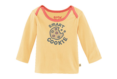 Baby Ringer Long Sleeve Smart Cookie - Infant