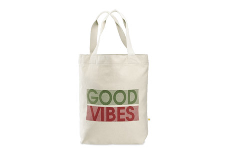Good Vibes Messaging Tote