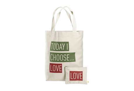 Today I Choose Love Tote and Pouch