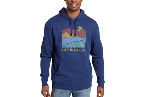 Easy Perfect Good Simply True Hoody - Men's