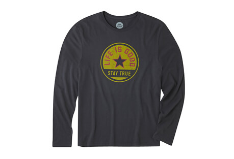 Stay True Coin Smooth Tee Long Sleeve - Men's